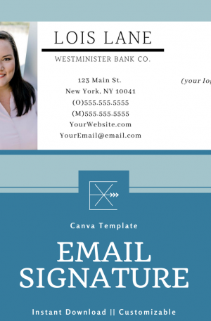 Email Signature Template – Corporate